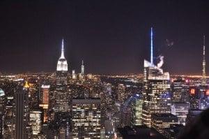 Blick auf Empire State Buildung