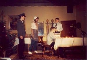 1986: Weihnachtsfeier