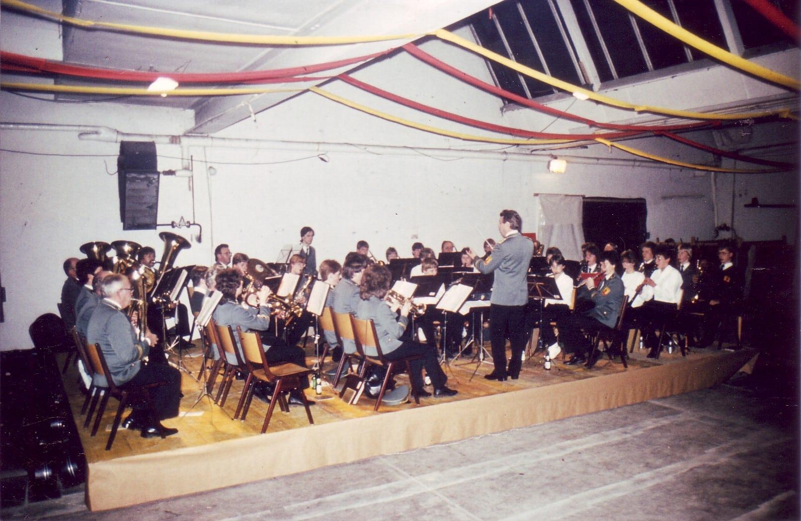1985 - Konzert im alten Kramer Gebäude