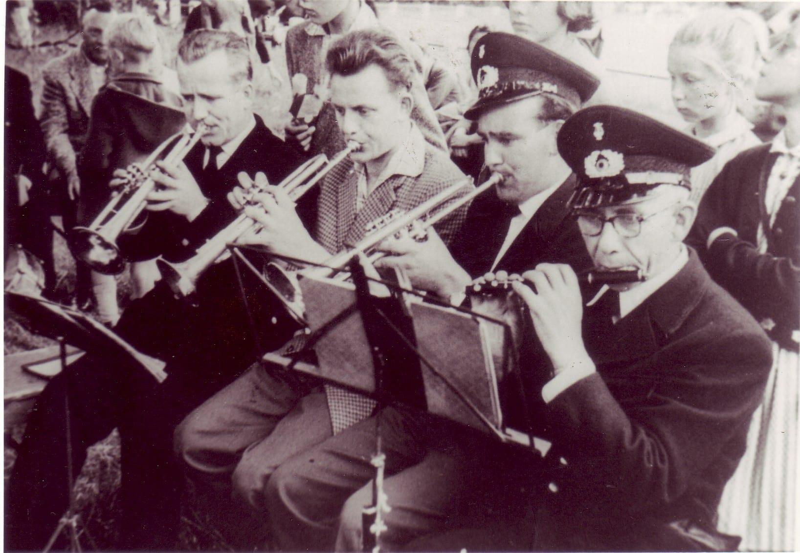 1958 - Josef Lösing, Bernhard Lammers, Josef Steiner, Josef Schwering