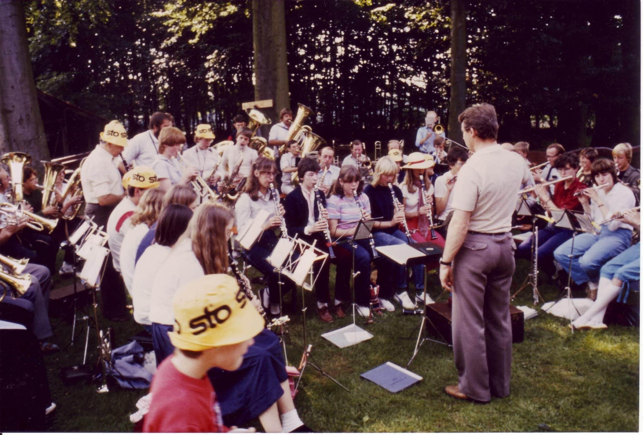 1982 - Treffen mit MV Geseke