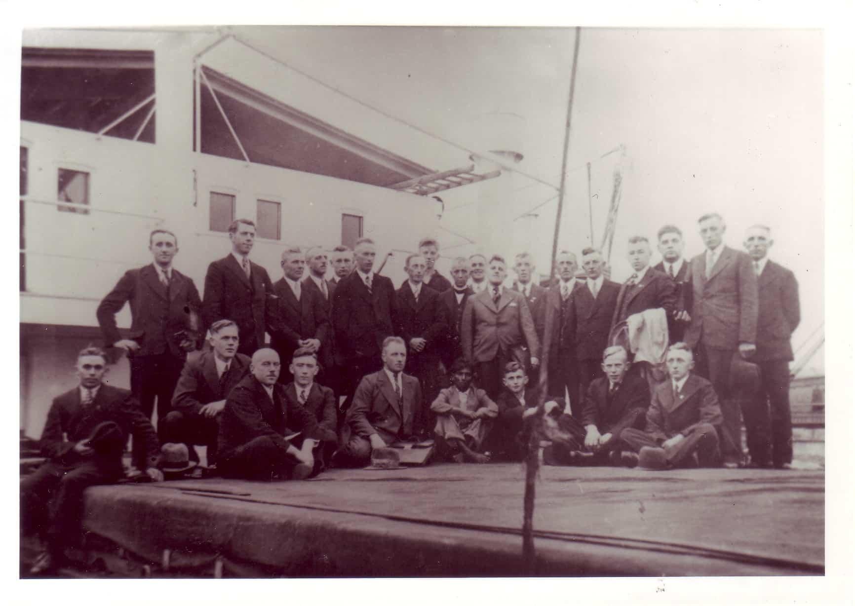 1936 - Ausflug nach Bremen