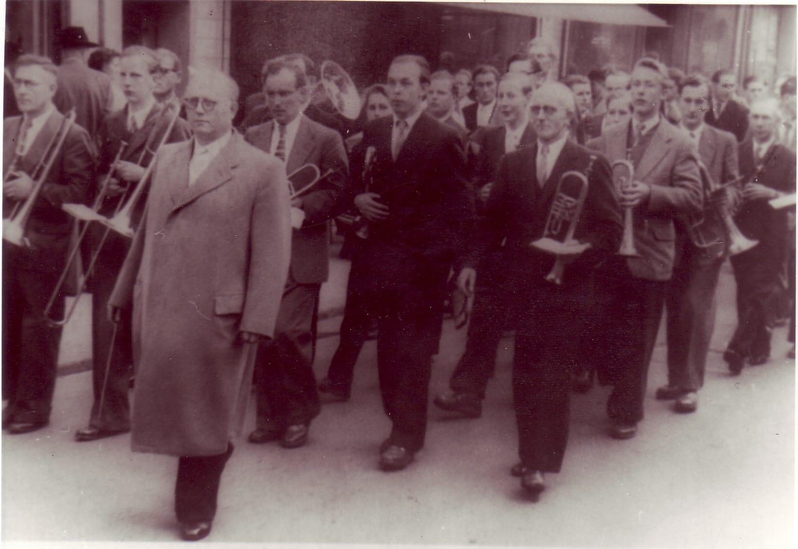 1956 - Dirigent Jakob Weber