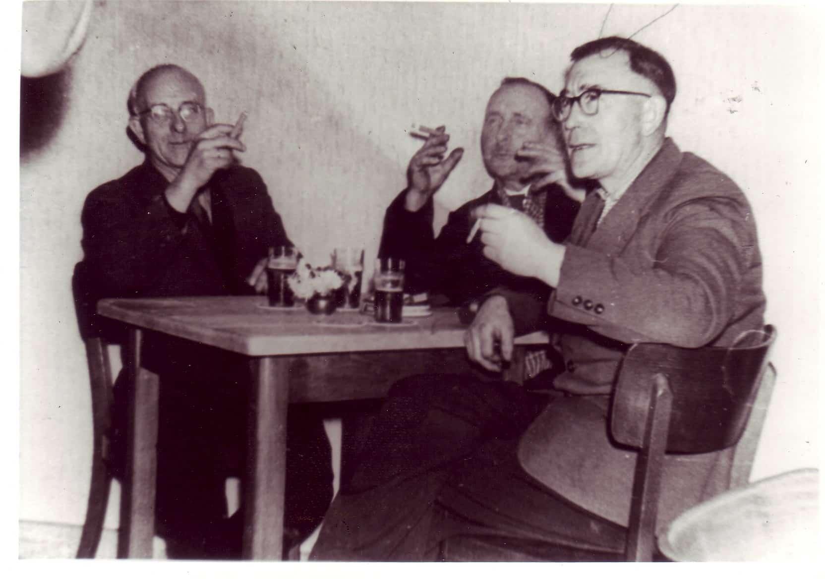 1959 - v.l. August Benkhoff, Hermann Lösbrock, Franz Haring