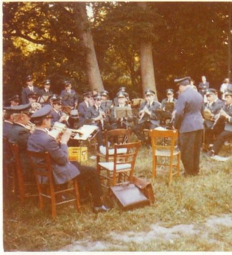 1973 - Konzert auf dem Hof Reufer